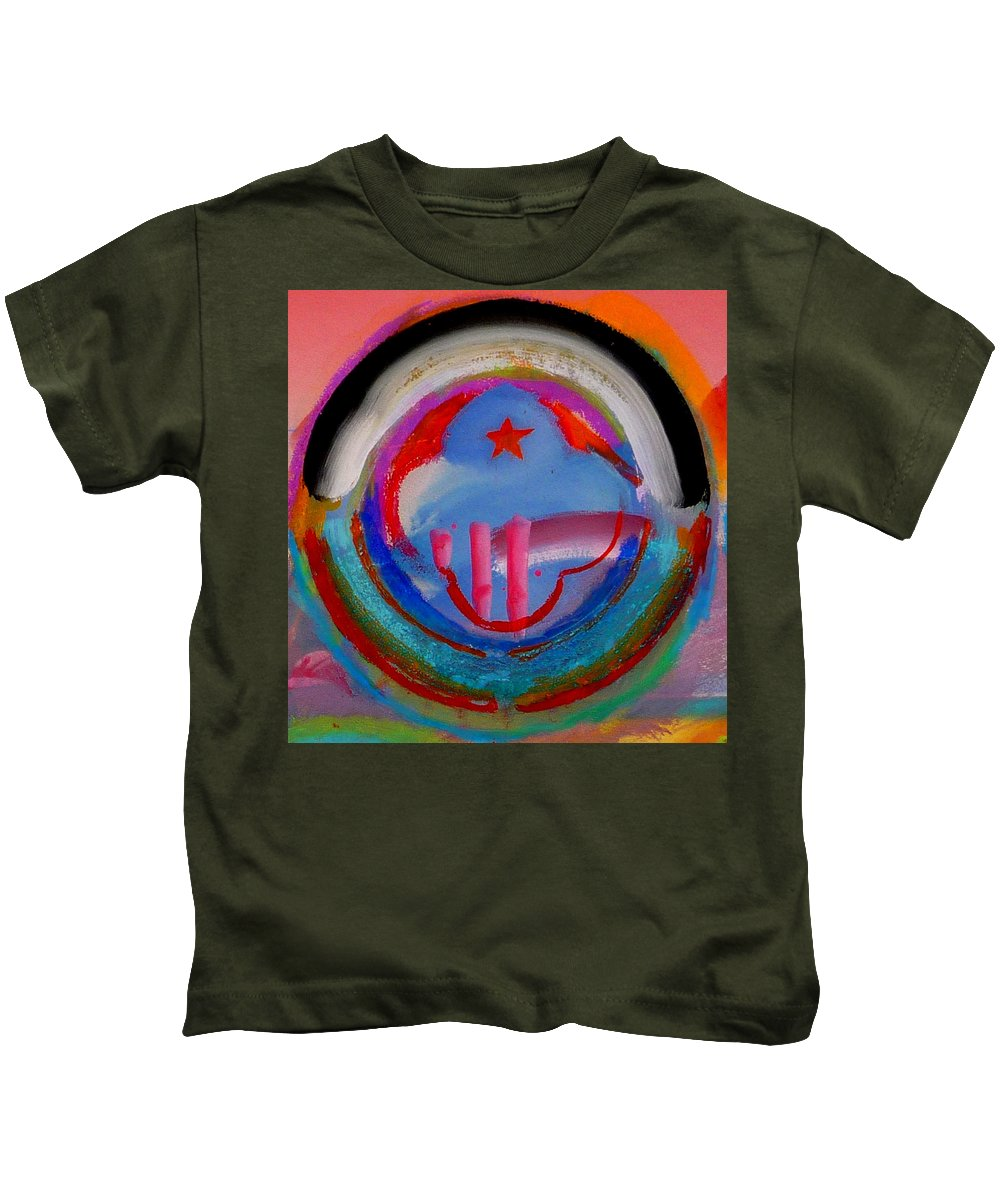 Logo Kids T-Shirt featuring the painting Morning Light by Charles Stuart
