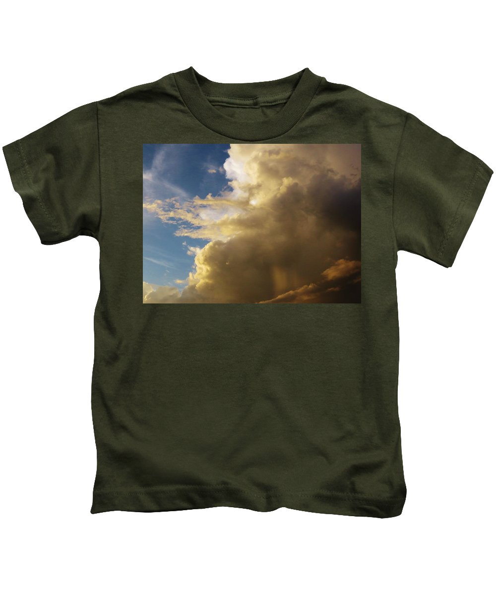 Morning Sky After A Thunderstorm Kids T-Shirt featuring the photograph Morning Sky After The Storm by Mario Carta