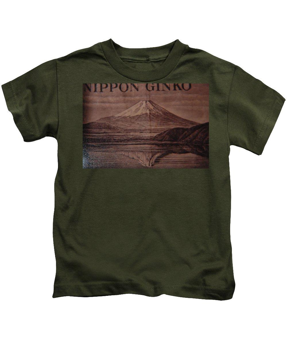 Mount Fuji Kids T-Shirt featuring the photograph Mount Fuji by Rob Hans