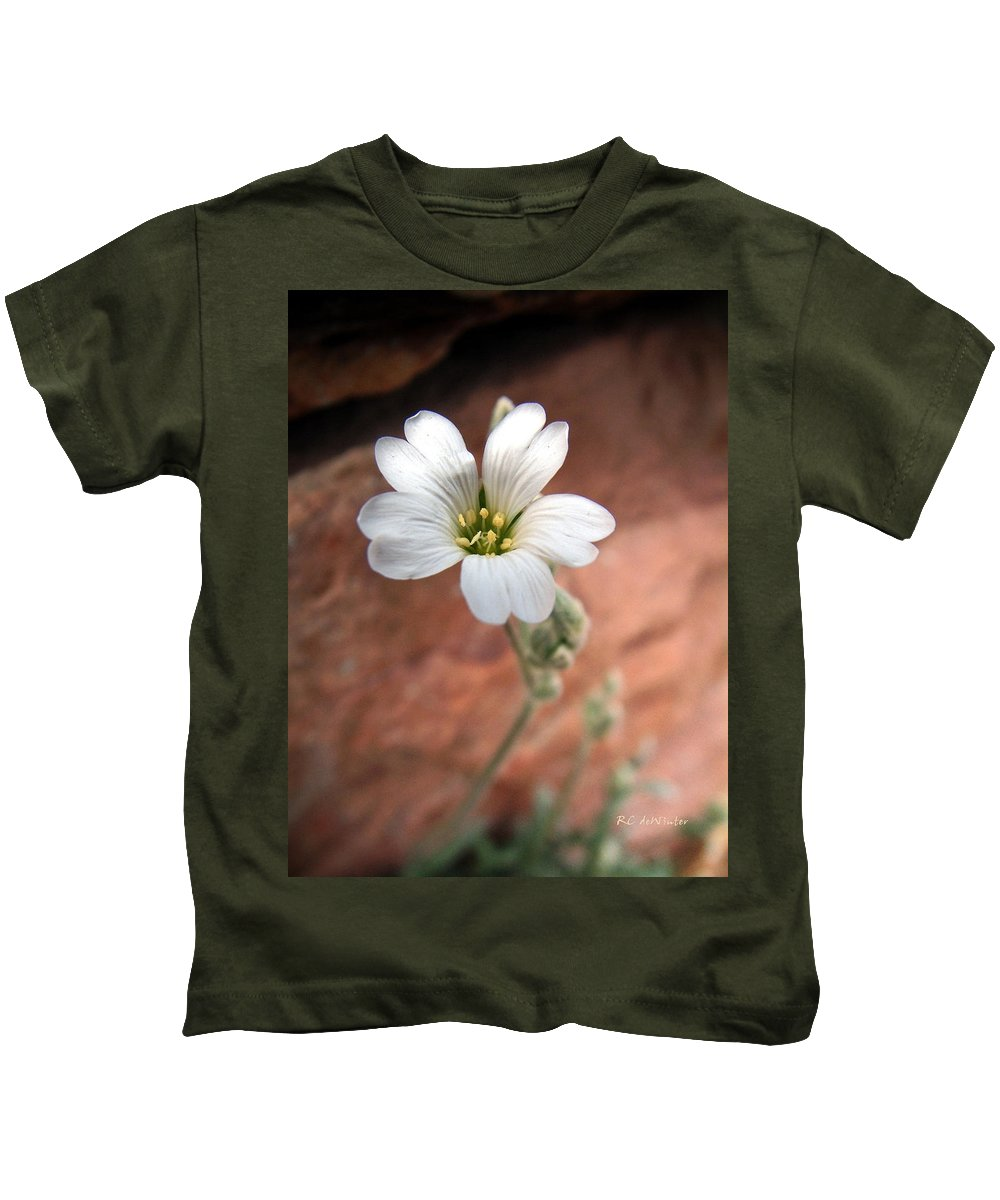 Alpine Kids T-Shirt featuring the photograph Mountain Beauty by RC DeWinter