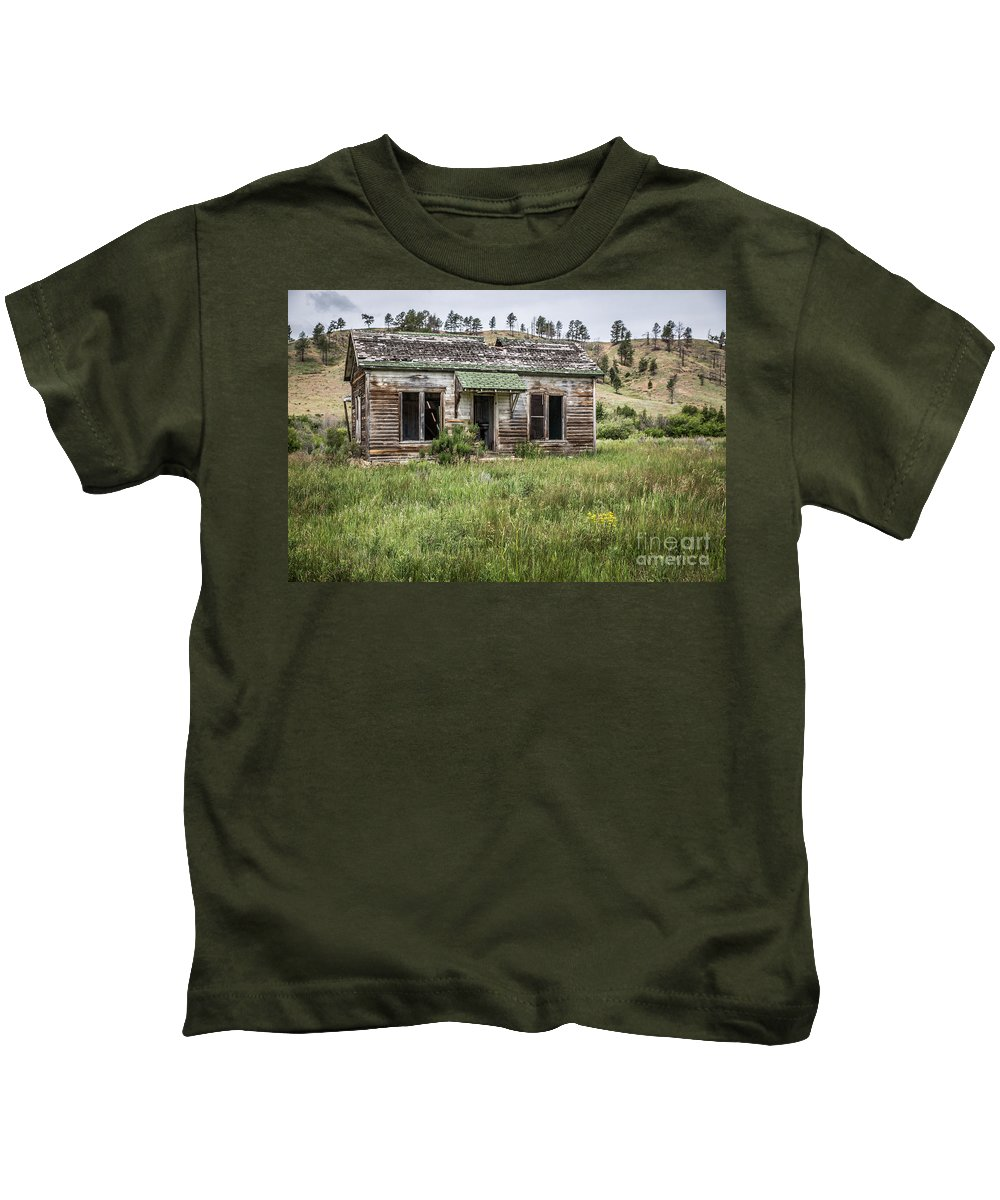Deserted Kids T-Shirt featuring the photograph Move-in Ready by Lynn Sprowl