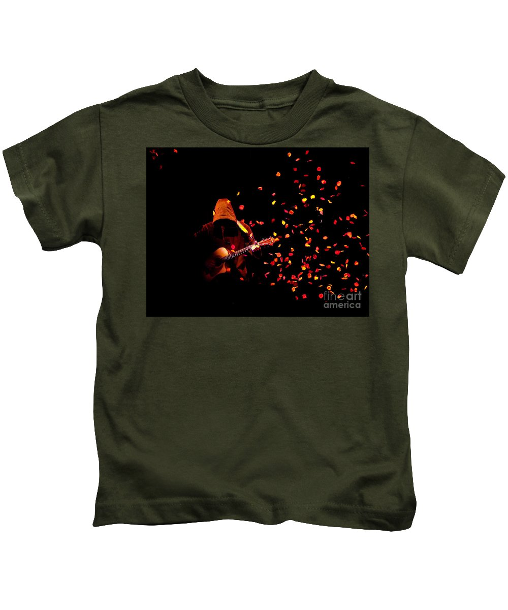 Clay Kids T-Shirt featuring the photograph Musical Appirition by Clayton Bruster