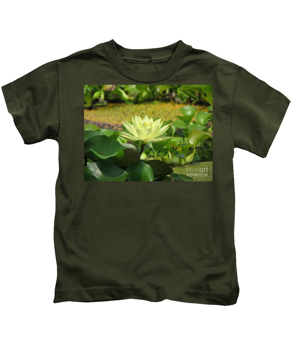 Nature Kids T-Shirt featuring the photograph Nature by Amanda Barcon