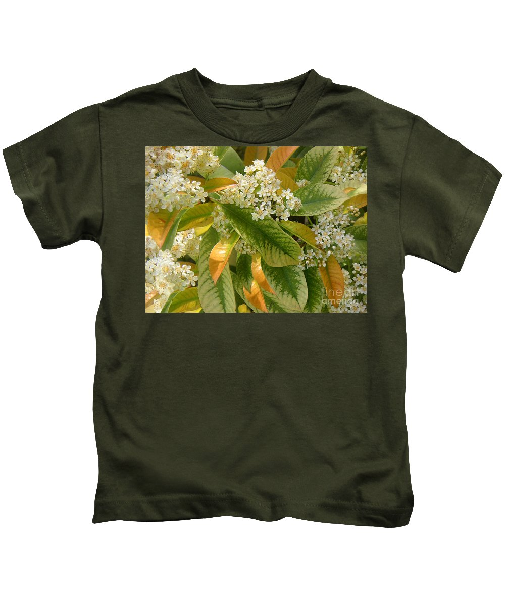 Nature Kids T-Shirt featuring the photograph Nature In The Wild - A Summer's Day by Lucyna A M Green