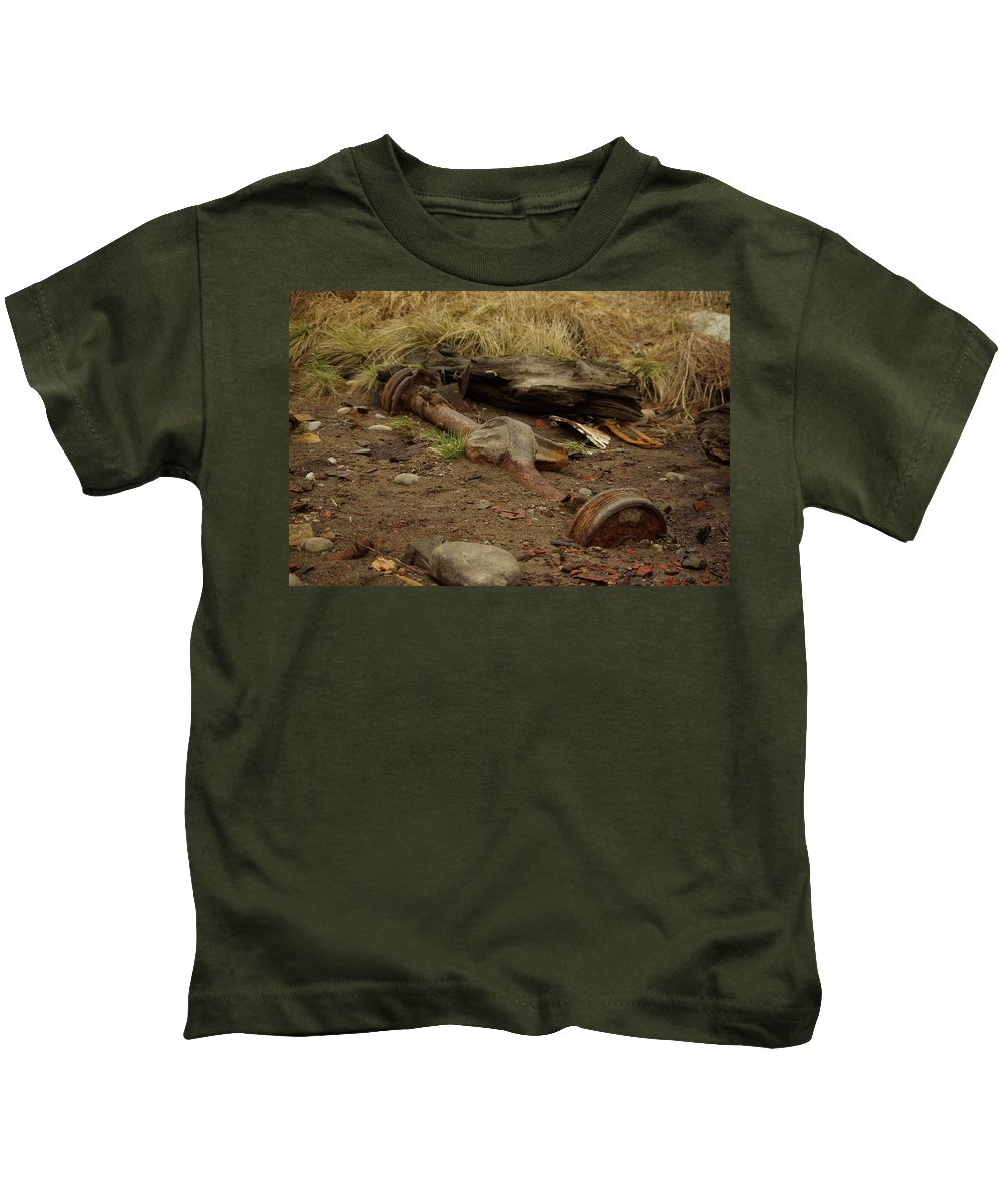 Nature Kids T-Shirt featuring the photograph Nature Wins by Cindy Johnston