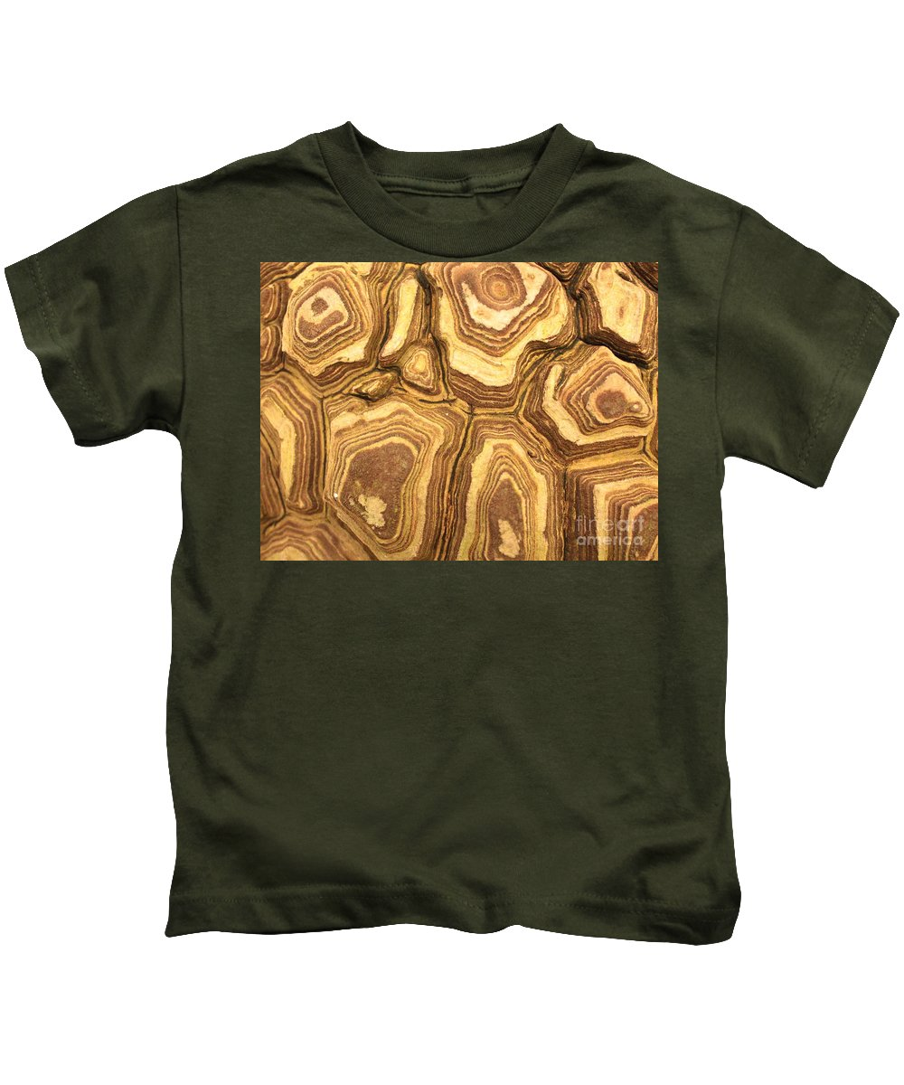 Nature Kids T-Shirt featuring the photograph Nature's Interesting Patterns by Carol Groenen