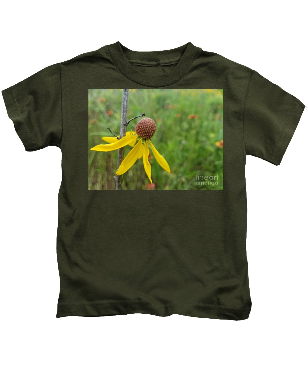 Nature's Support Kids T-Shirt featuring the photograph Nature's Support by Maria Urso