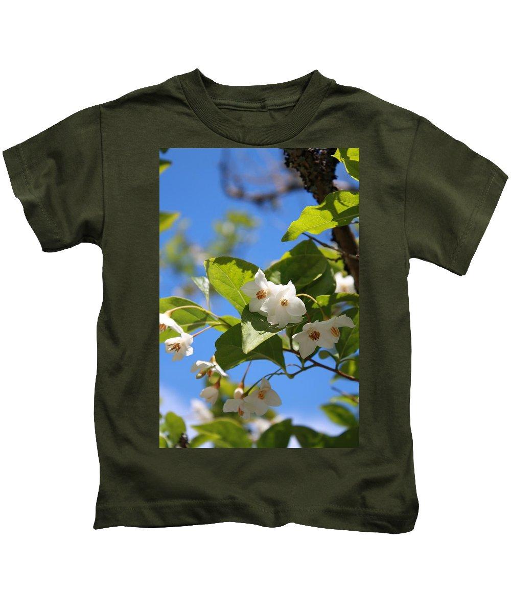 Kids T-Shirt featuring the photograph Nissi Farm by Karis Tsolomitis