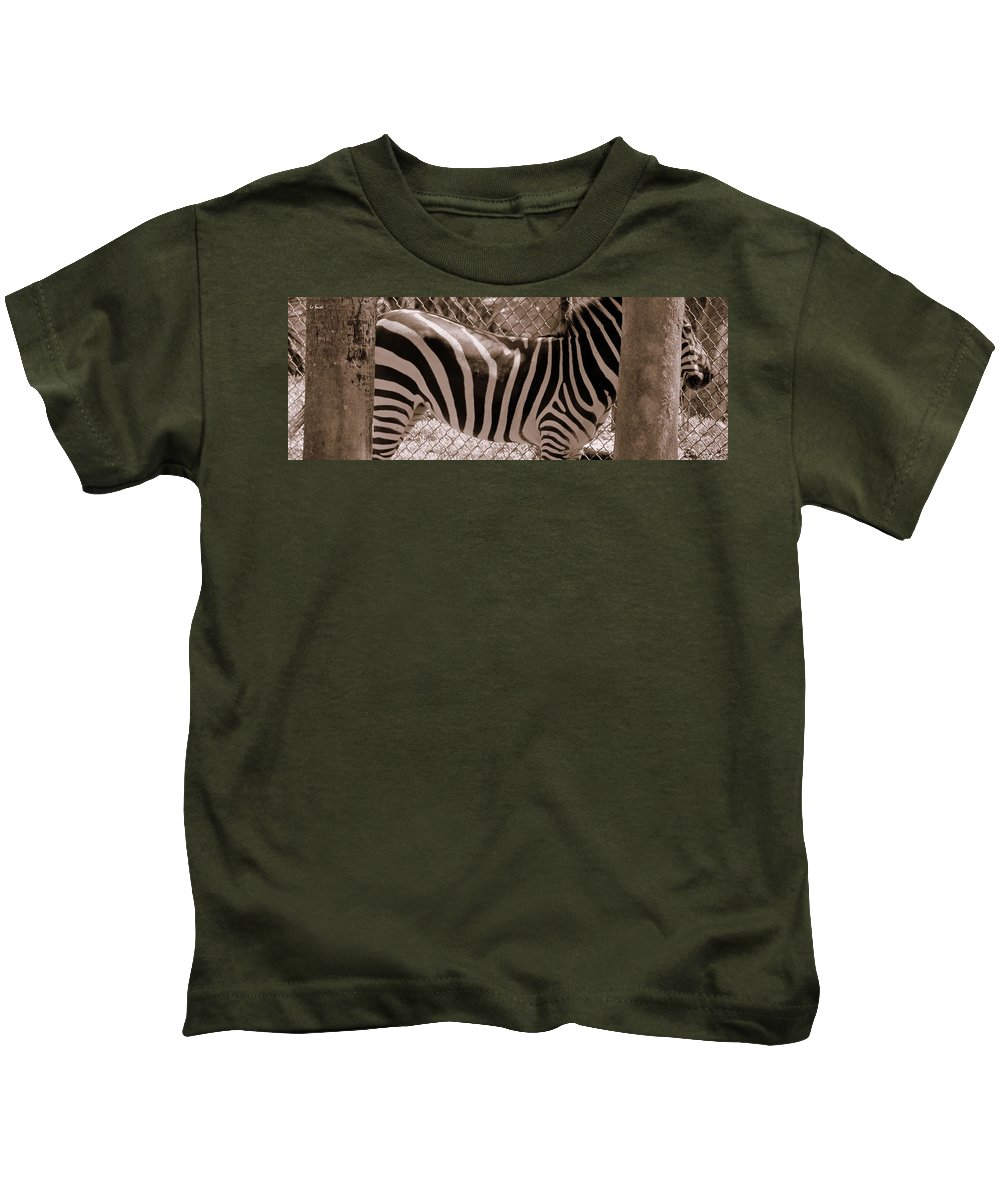 No Where To Hide Kids T-Shirt featuring the photograph No Where To Hide by Ed Smith