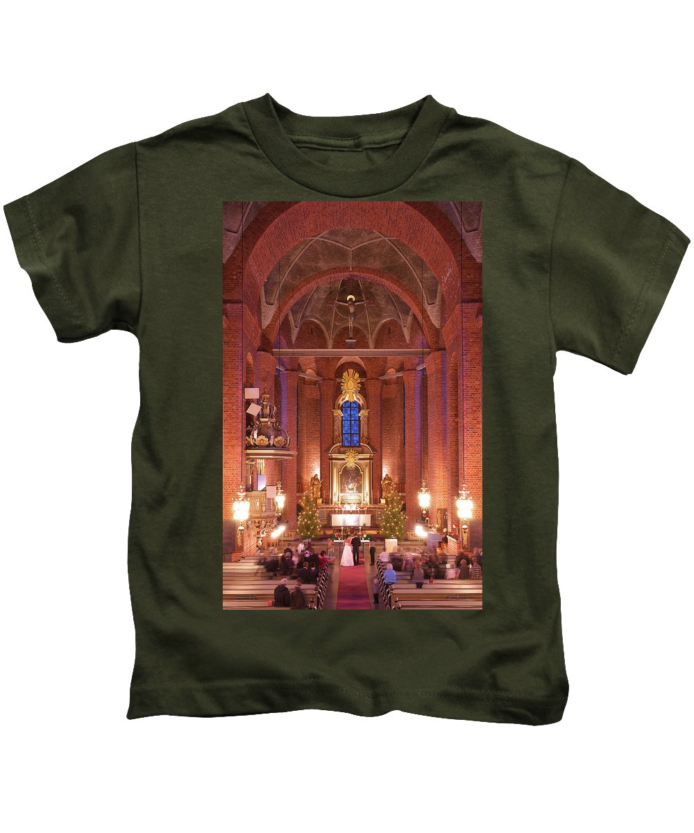 Church Kids T-Shirt featuring the photograph Oath by Naoki Takyo
