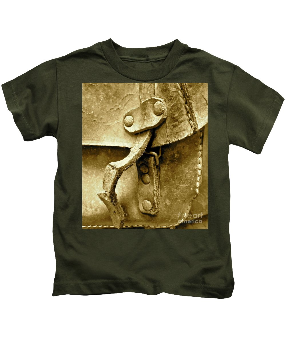 Old Friends Kids T-Shirt featuring the photograph Old Friends by Gwyn Newcombe