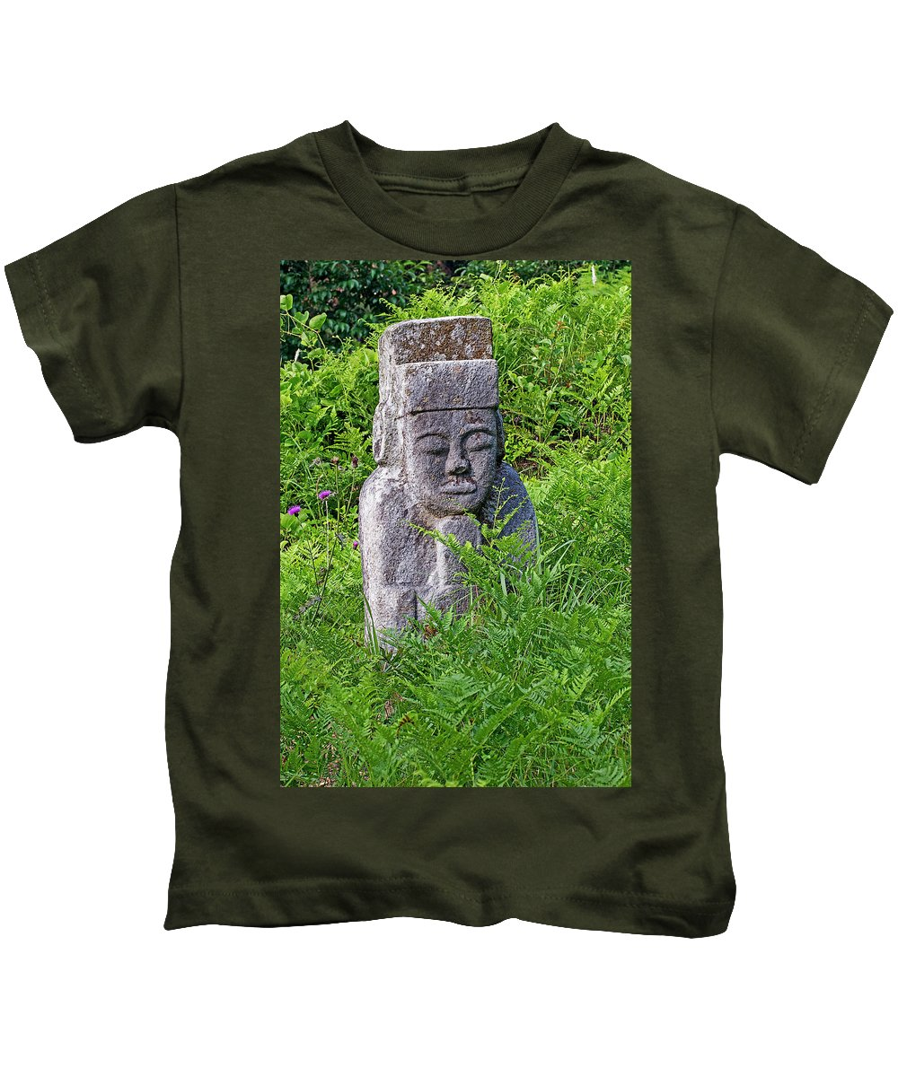 Historical Kids T-Shirt featuring the photograph Old Man by Eric Nelson