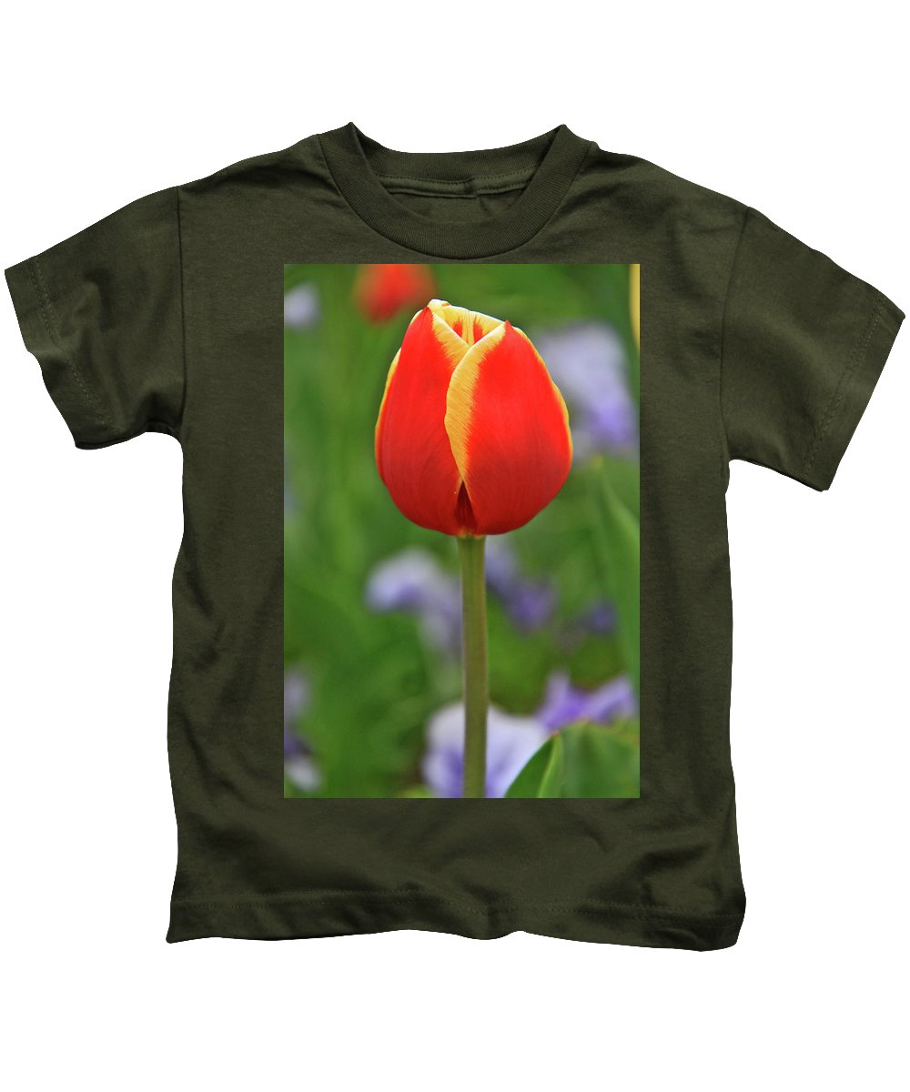 Flowers Kids T-Shirt featuring the photograph One Love by Scott Mahon
