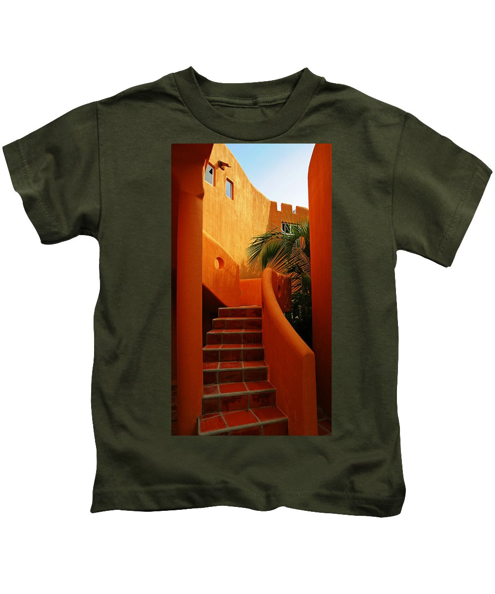 Orange Crush Kids T-Shirt featuring the photograph Orange Crush 2 by Skip Hunt
