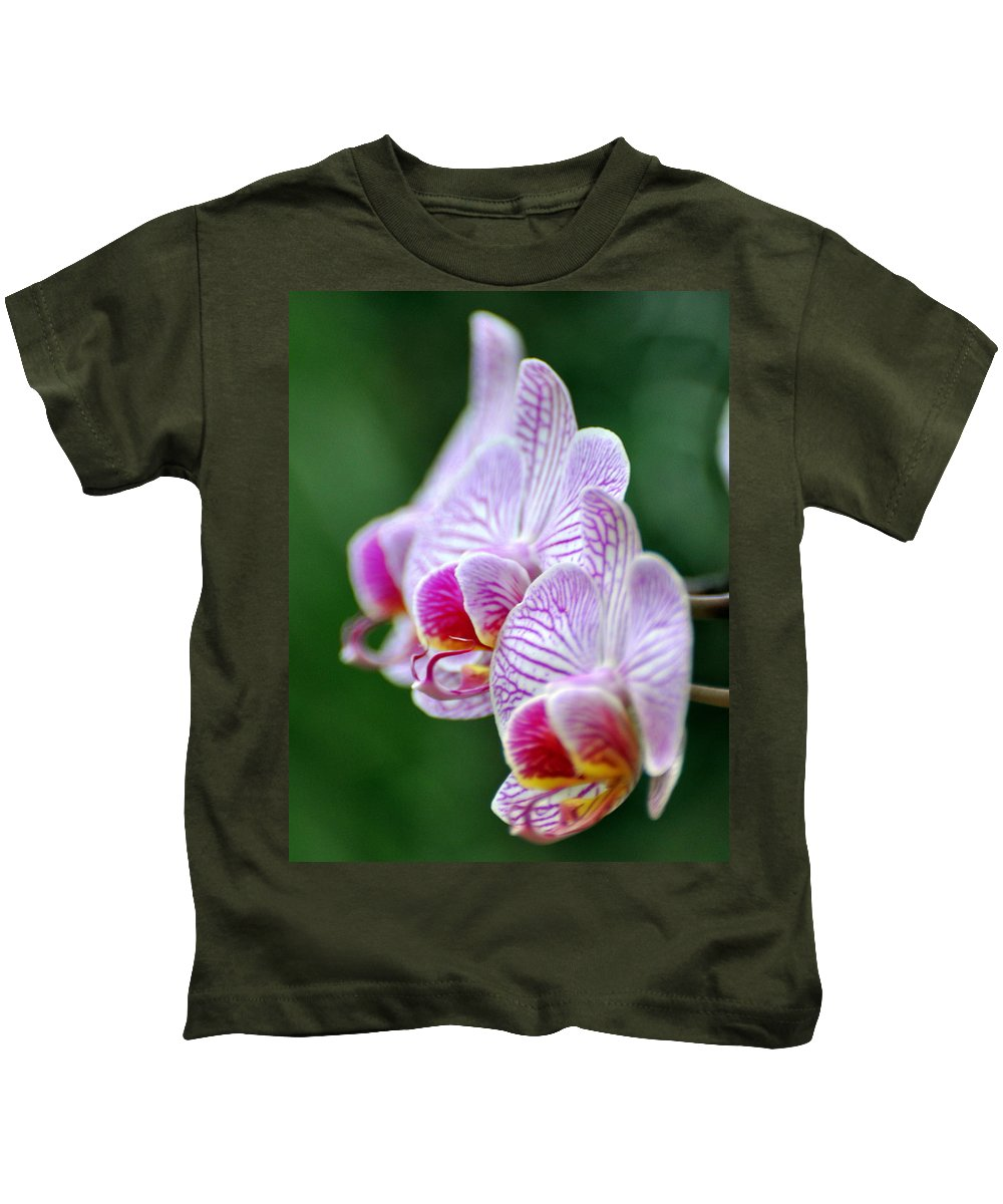 Flower Kids T-Shirt featuring the photograph Orchid 30 by Marty Koch