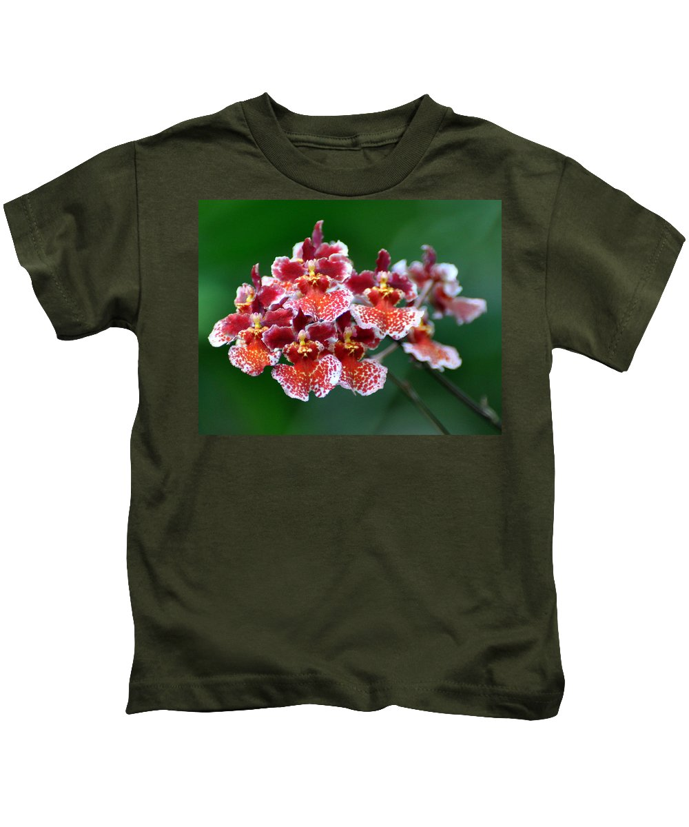 Orchid Kids T-Shirt featuring the photograph Orchid 31 by Marty Koch