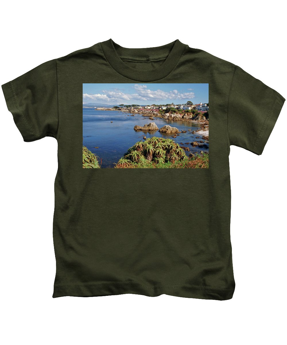 Kids T-Shirt featuring the photograph Pacific Grove, Ca by Janine Moore