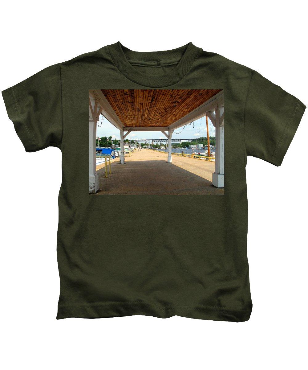 Parry Sound Kids T-Shirt featuring the photograph Parry Sound by Ian MacDonald