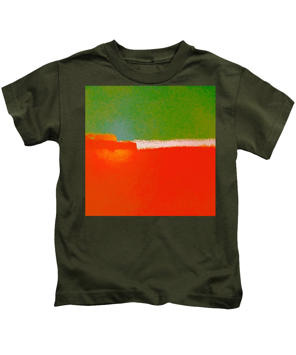 Red Kids T-Shirt featuring the photograph Partners by Dave Love