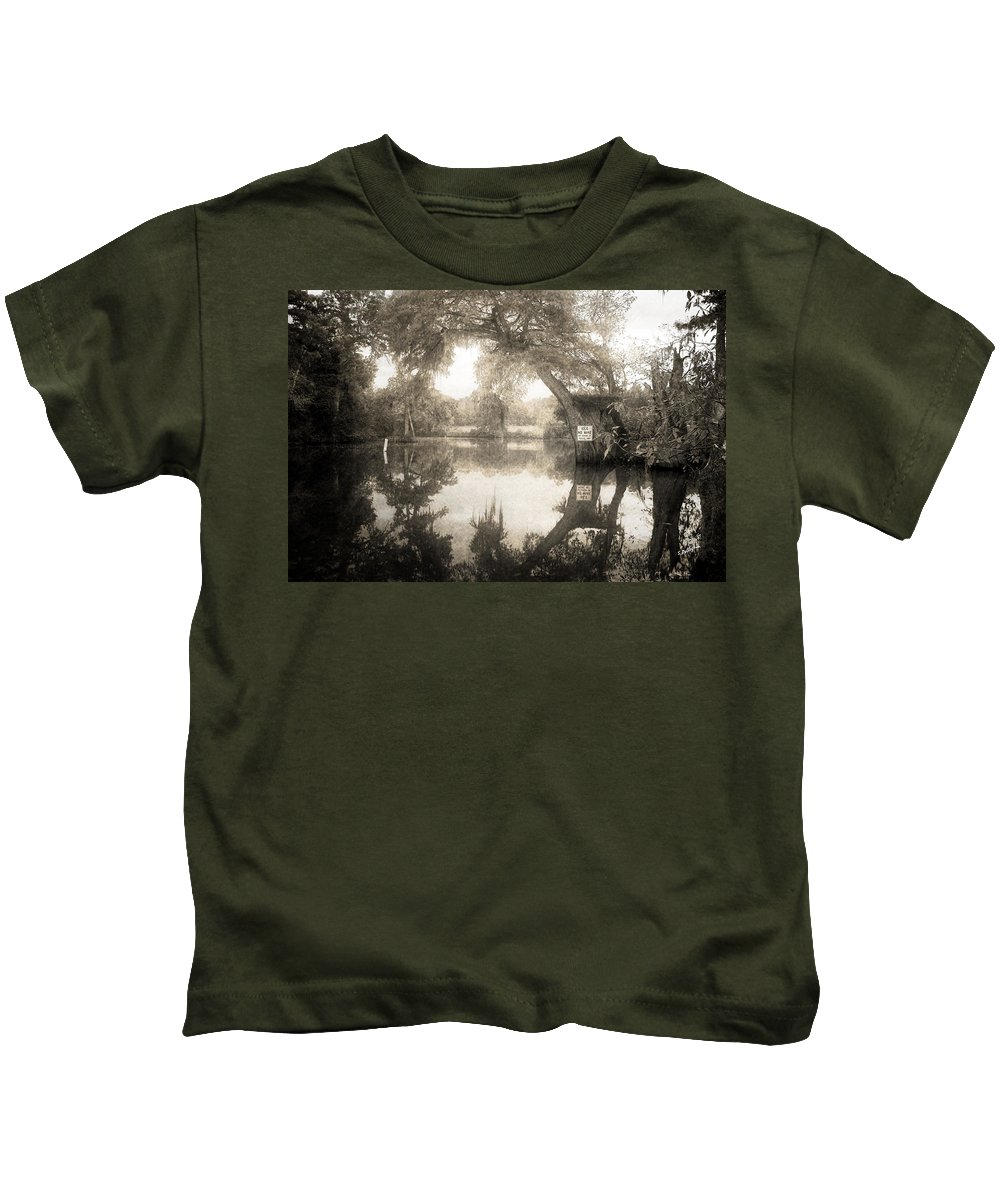 Water Kids T-Shirt featuring the photograph Peaceful Evening by Scott Pellegrin