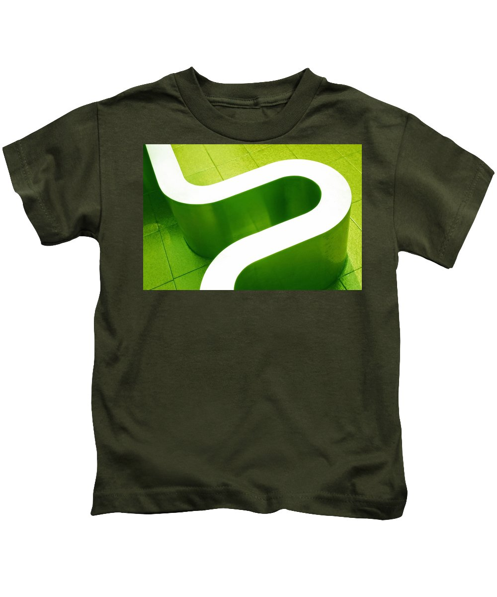 Abstract Kids T-Shirt featuring the photograph Pharmacia by Skip Hunt