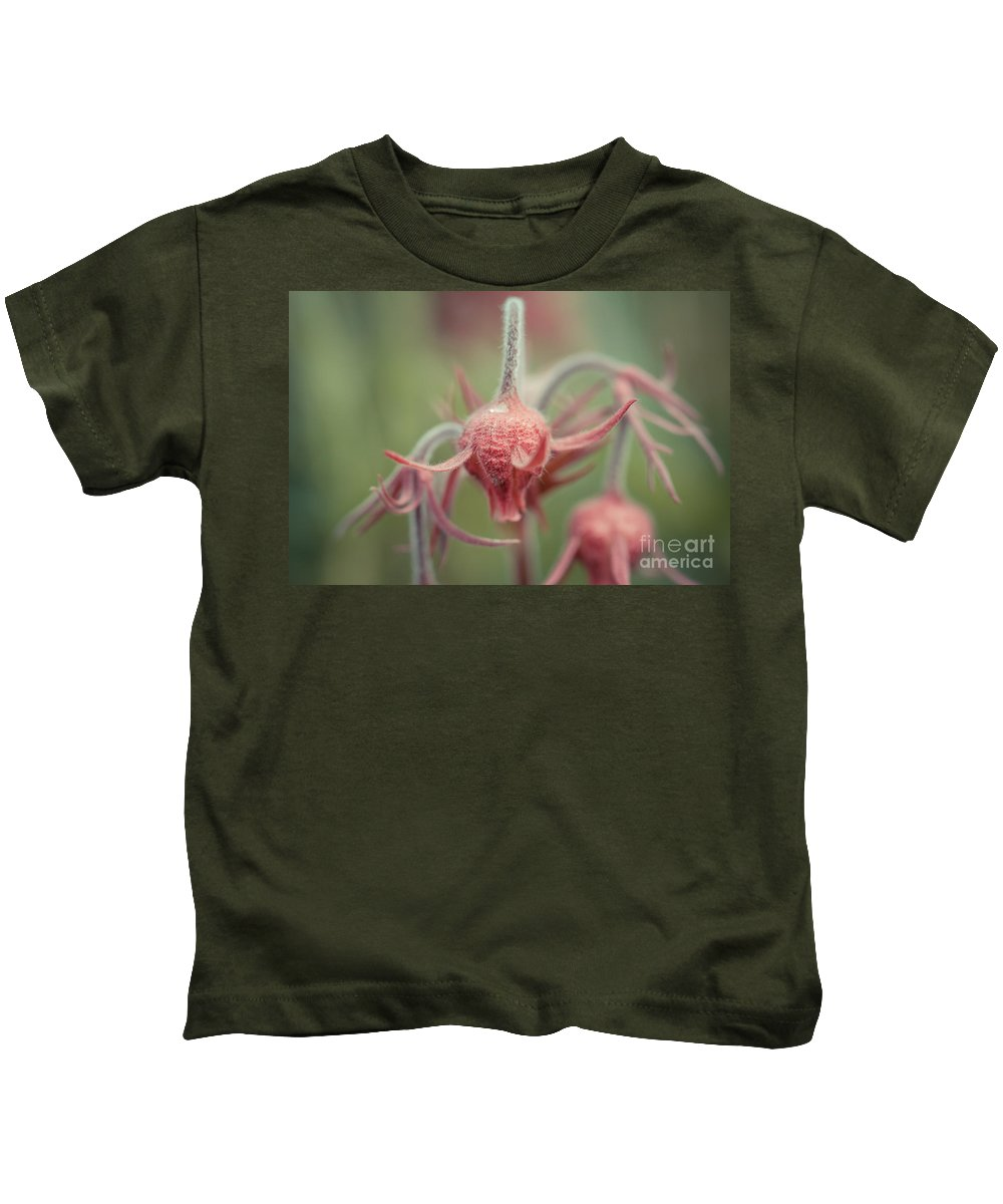 Colorado Kids T-Shirt featuring the photograph Pink Fuzz 7 by Ashley M Conger