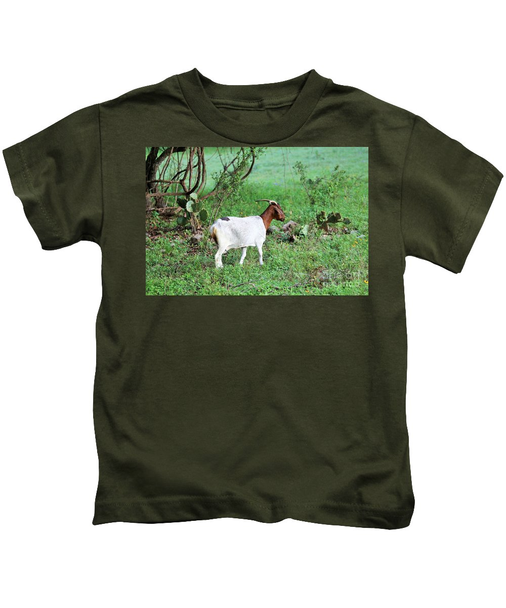 Kids T-Shirt featuring the photograph Practice by Jeff Downs