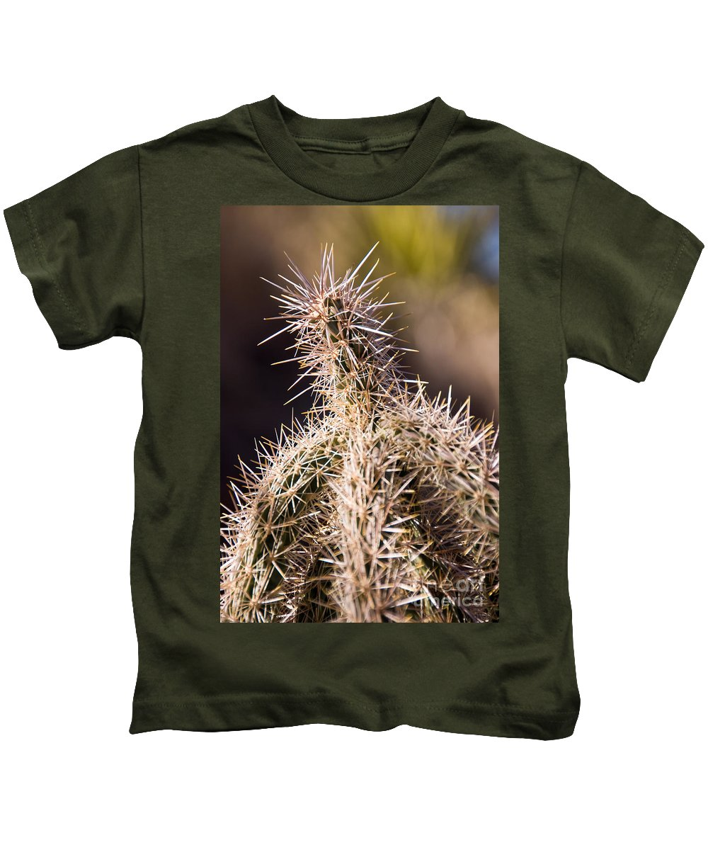 Prick Kids T-Shirt featuring the photograph Prick by Charles Dobbs