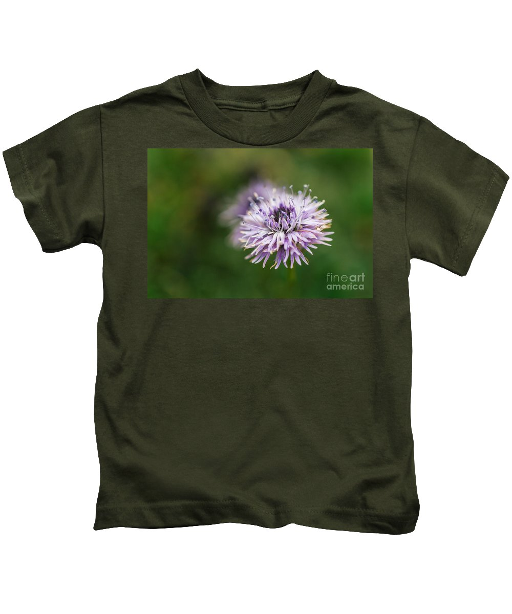 Colorado Kids T-Shirt featuring the photograph Purple Bloom 2 by Ashley M Conger