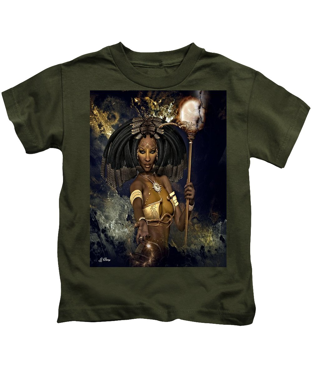 Beautiful Kids T-Shirt featuring the photograph Queen Negasi by G Berry