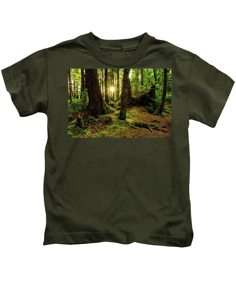Olympic National Park Kids T-Shirts
