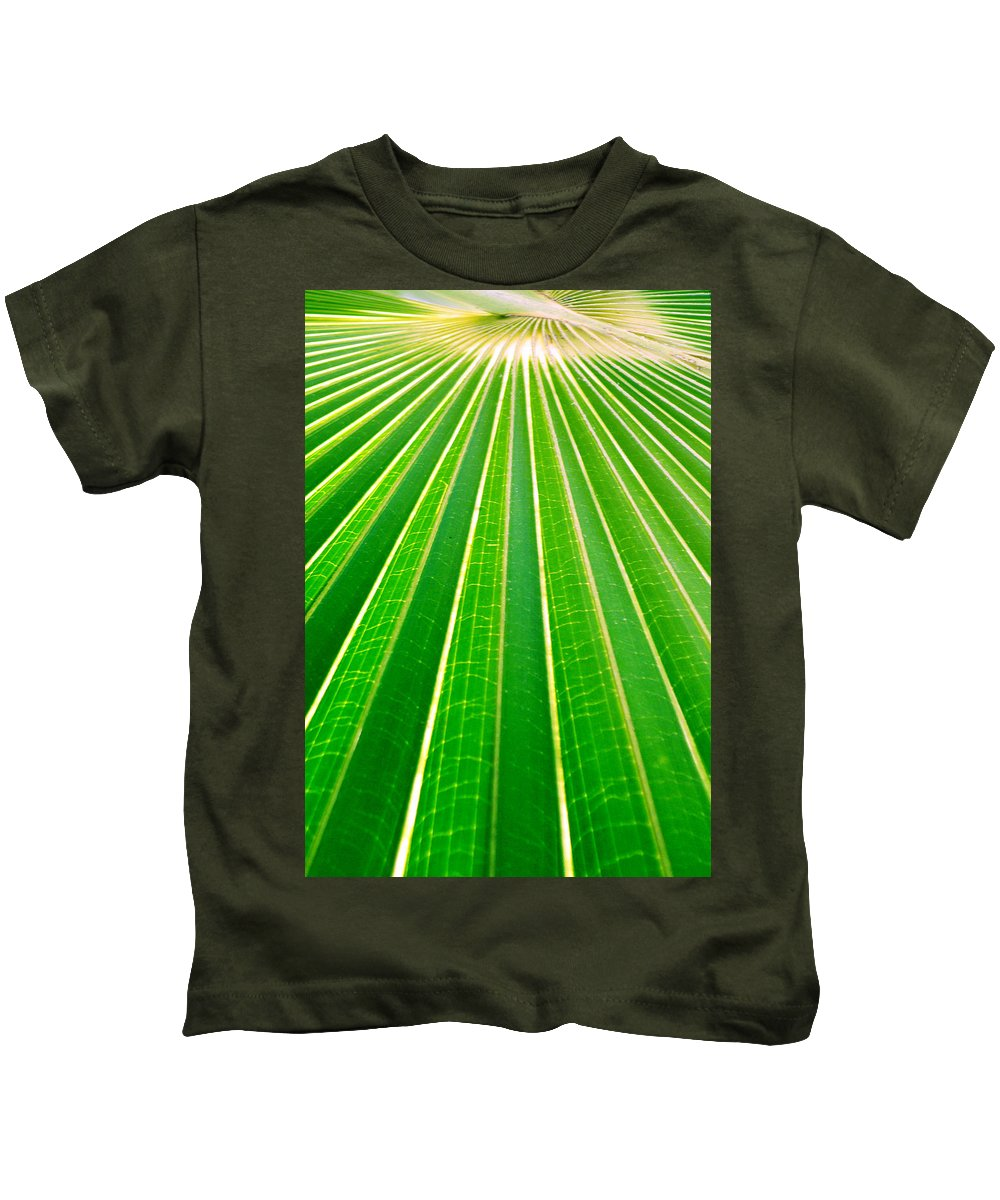 Nature Kids T-Shirt featuring the photograph Reaching Out by Holly Kempe