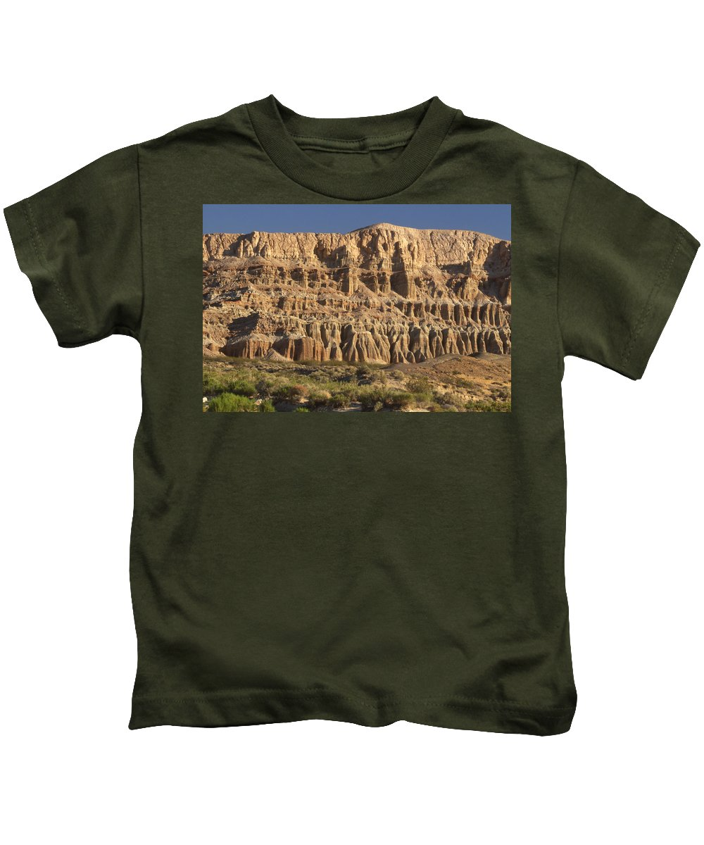 Hwy 14 Kids T-Shirt featuring the photograph Red Rock Canyon State Park by Soli Deo Gloria Wilderness And Wildlife Photography