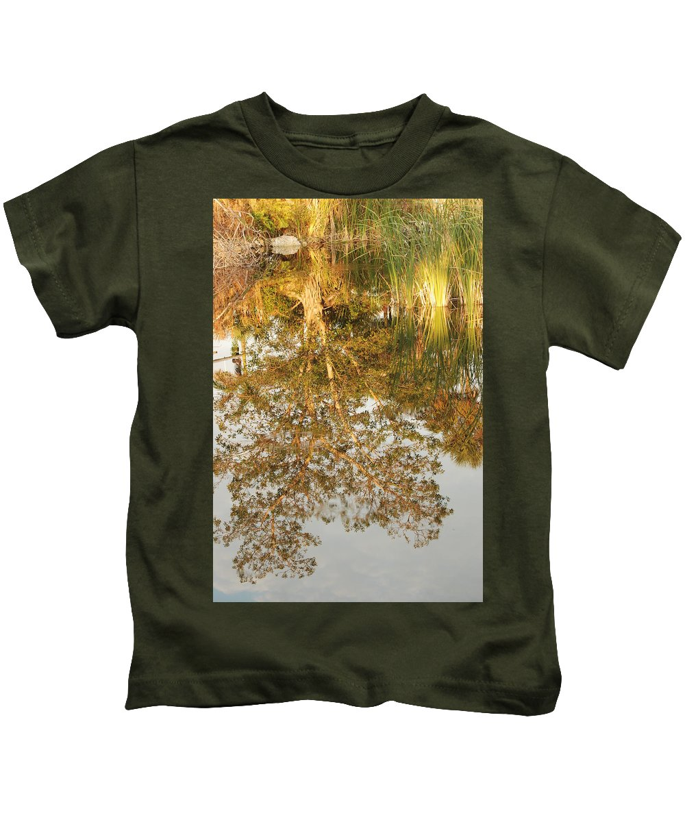 Sunsets Kids T-Shirt featuring the photograph Reflections Of Old Miss by Rob Hans