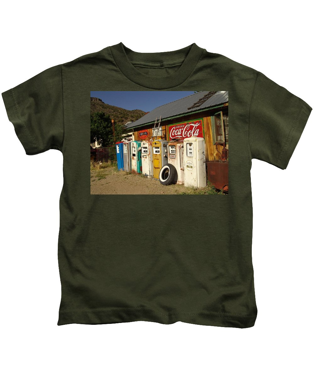 Auto Kids T-Shirt featuring the photograph Remember When by Carol Milisen