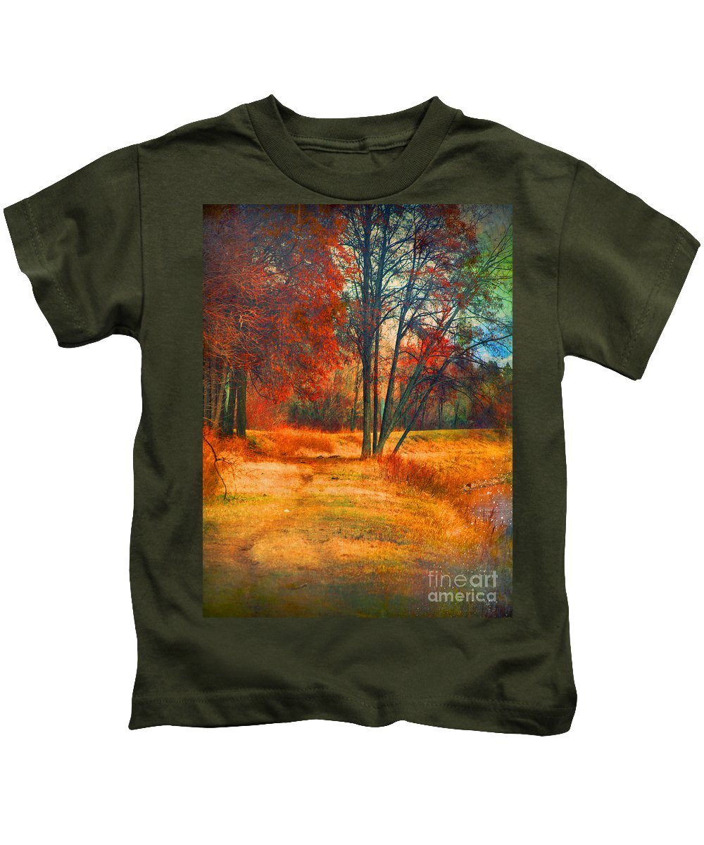 Trees Kids T-Shirt featuring the photograph Remembering The Places I Have Been by Tara Turner