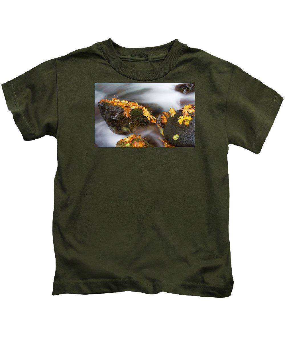 Autumn Kids T-Shirt featuring the photograph Respite by Mike Dawson