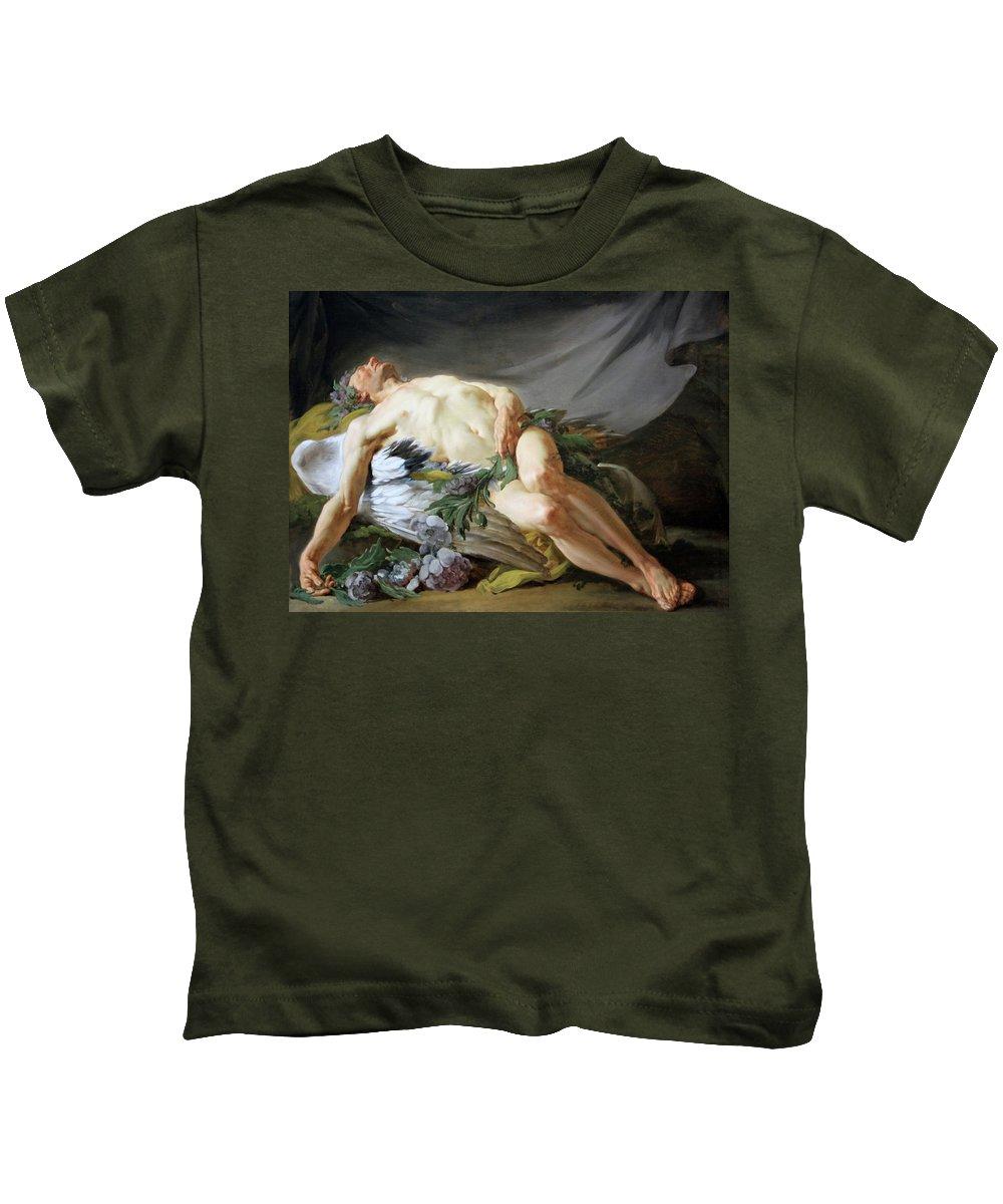 Sleep Kids T-Shirt featuring the photograph Restout's Sleep by Cora Wandel