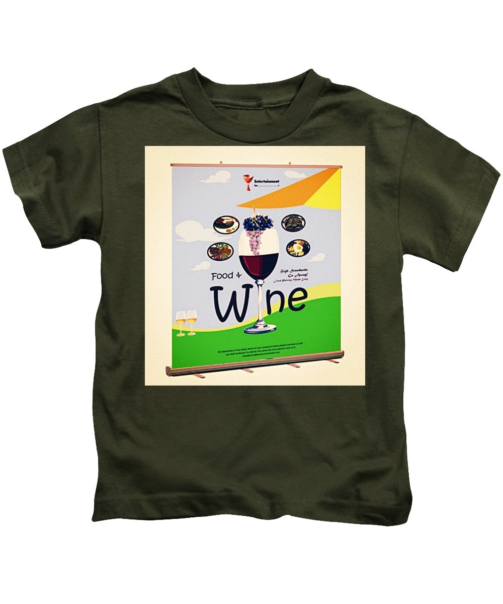 Retractable Banners Kids T-Shirt featuring the photograph Retractable Banners- Effective Marketing Strategy by Markus Blaine