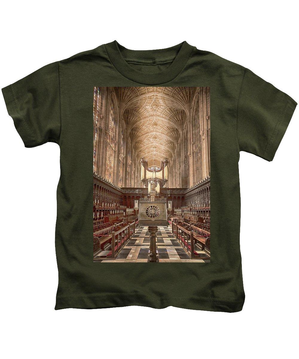 Cambridge Kids T-Shirt featuring the photograph Revelation by Monika Tymanowska
