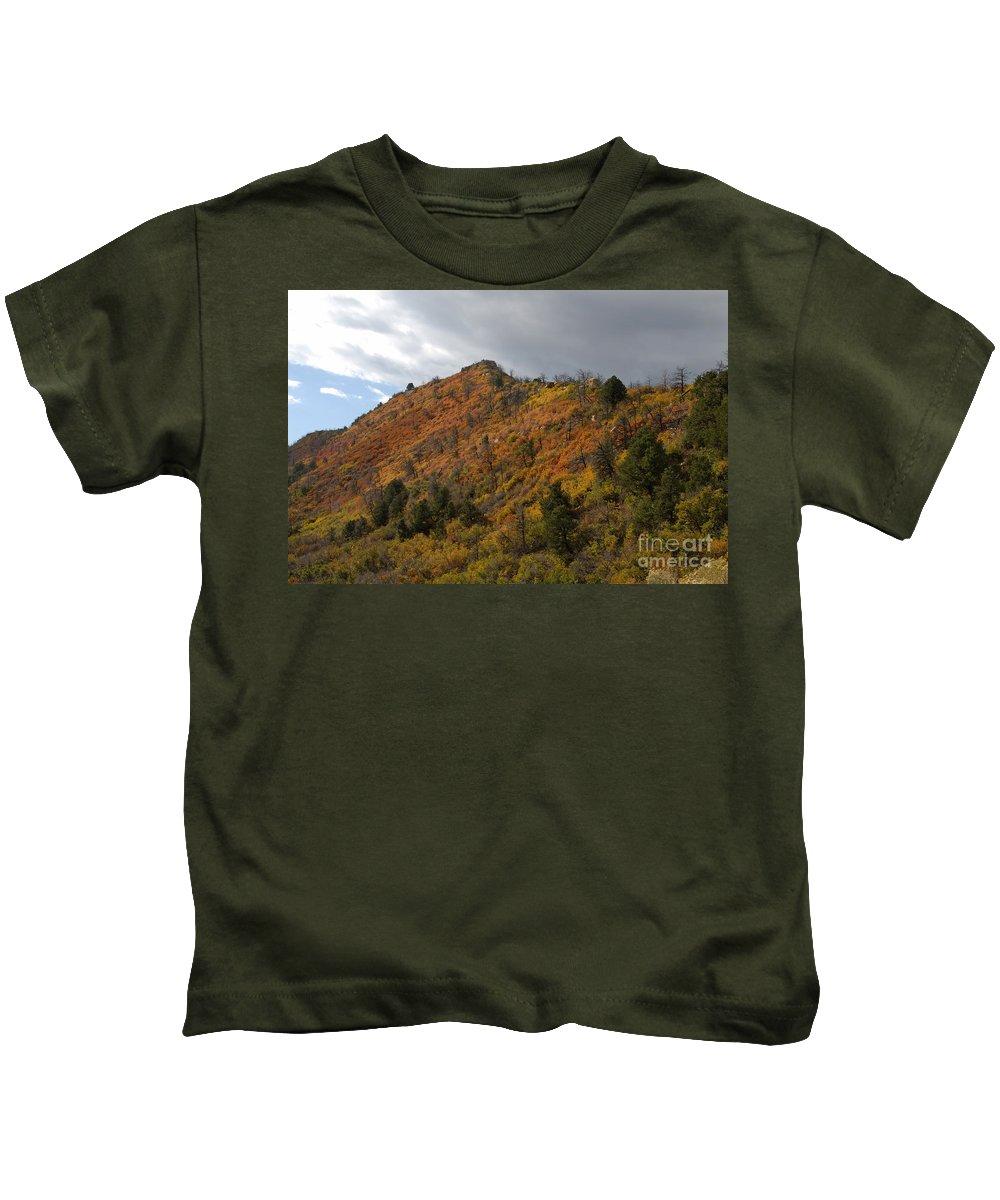 Landscape Kids T-Shirt featuring the photograph Ridge Line by David Lee Thompson