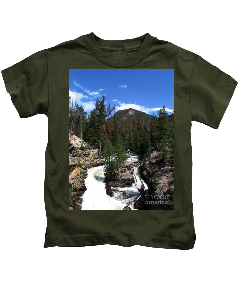 Colorado Kids T-Shirt featuring the photograph Roar by Amanda Barcon