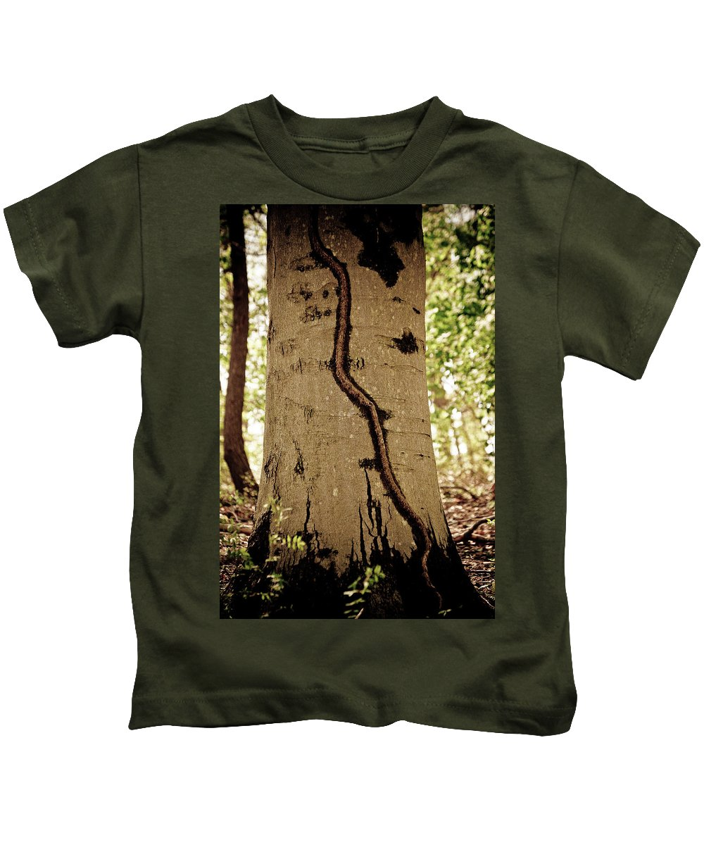 Kids T-Shirt featuring the photograph Roots by Trish Tritz