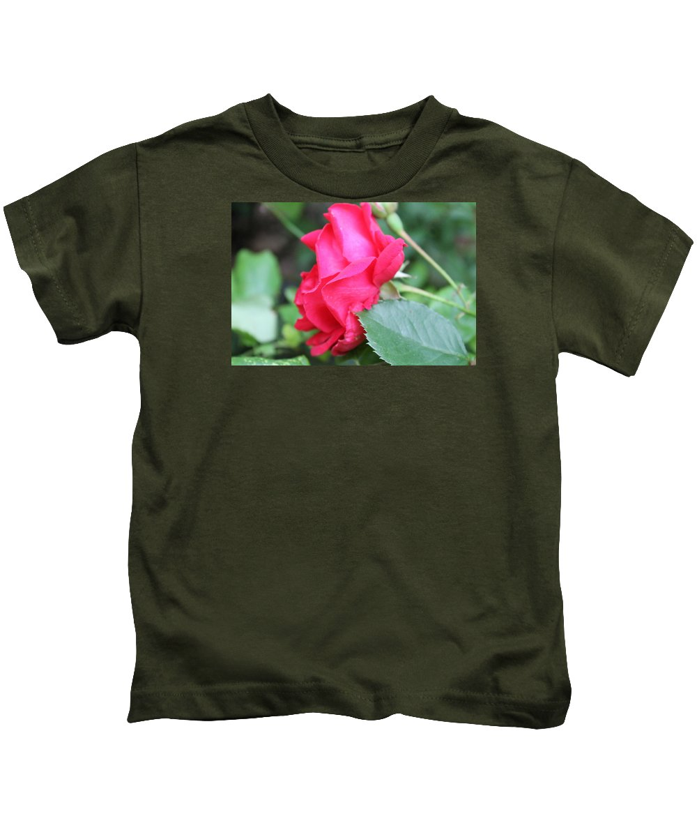 Rose. Flower Kids T-Shirt featuring the photograph Rose by Deven Birdwell