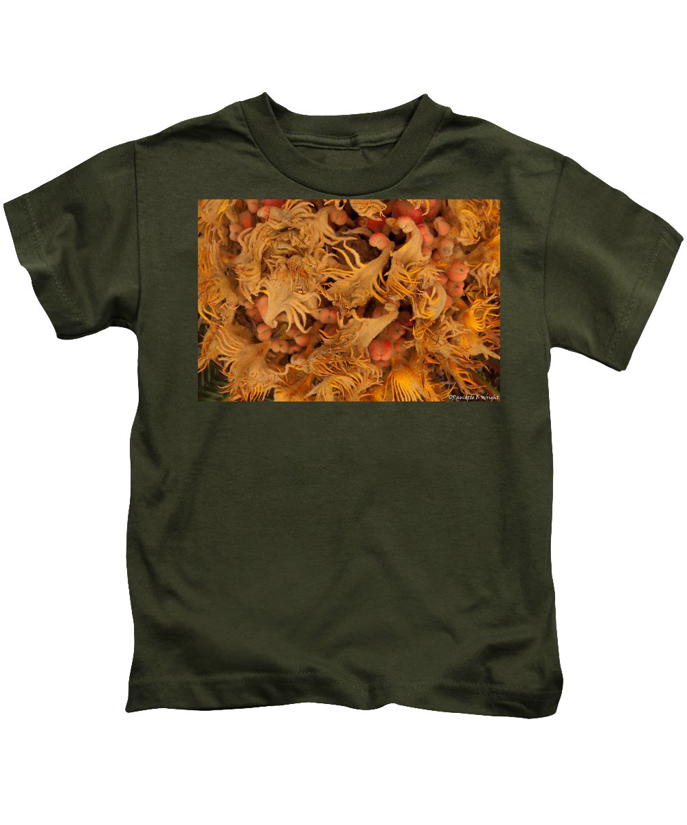 Sago Kids T-Shirt featuring the photograph Sago Seeds by Paulette B Wright