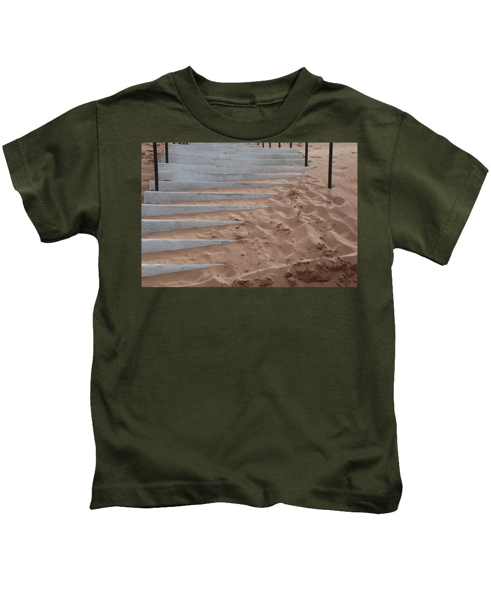 Pop Art Kids T-Shirt featuring the photograph Sands Of Time by Rob Hans