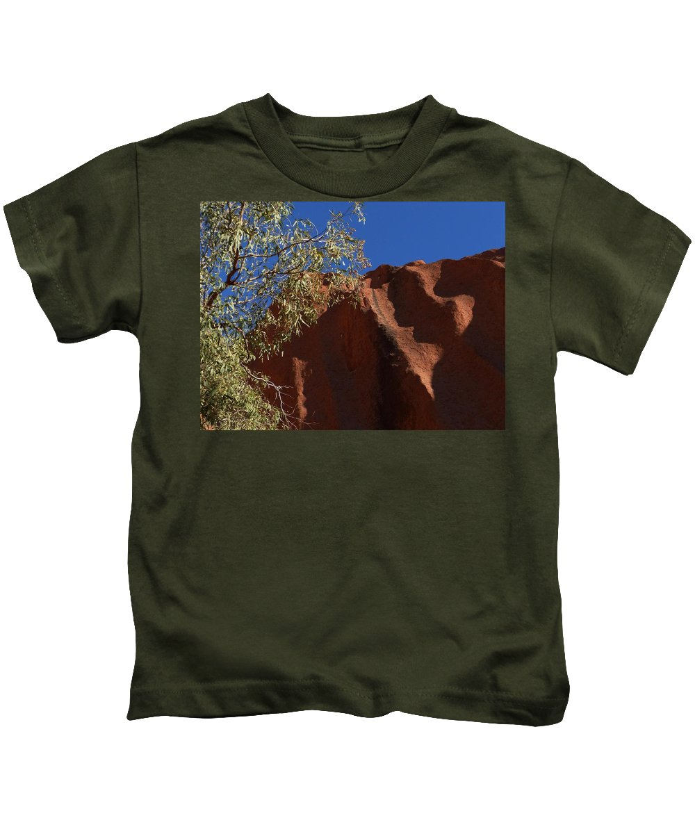 Kids T-Shirt featuring the photograph Sandy Rock by Nigel Photogarphy