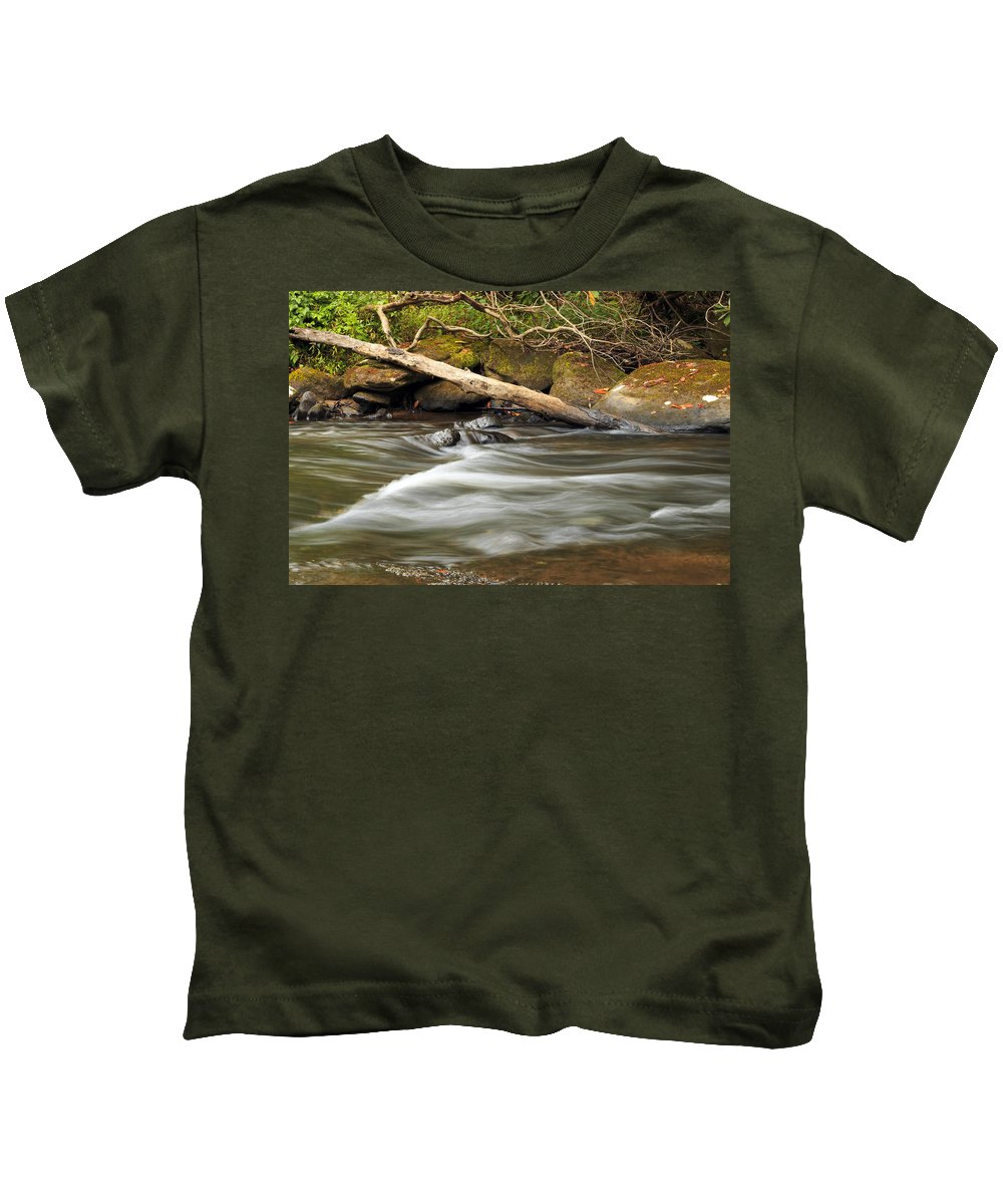 Blur Kids T-Shirt featuring the photograph Serenity by Travis Rogers