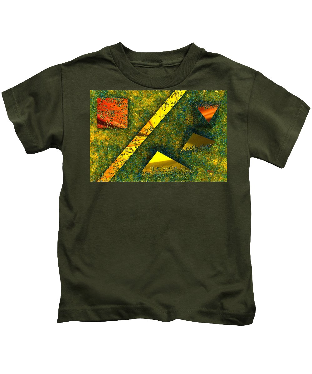 Background Kids T-Shirt featuring the digital art Setissimo 1 by Max Steinwald