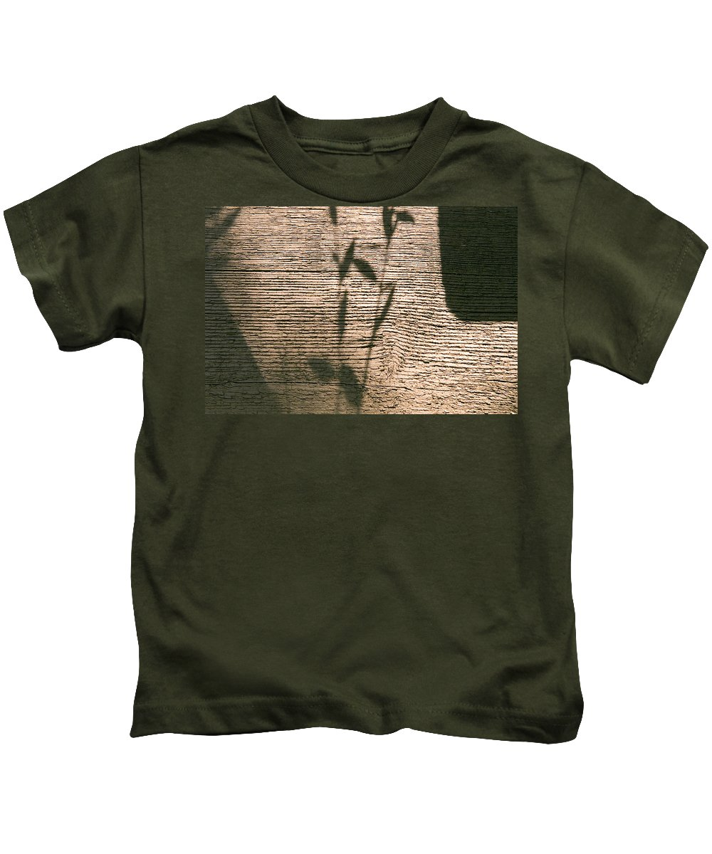 Kids T-Shirt featuring the photograph Shadow by Clayton Bruster